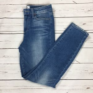 Paige jeans the hoxton high rise crop size 26